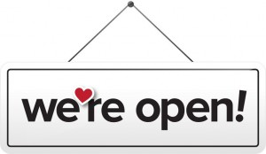 """Scripps' TV stations have launched the """"We're Open"""" campaign to support local businesses."""